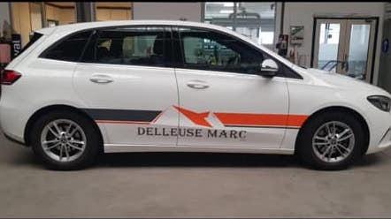 La voiture de fonction de Delleuse Marc Toitures